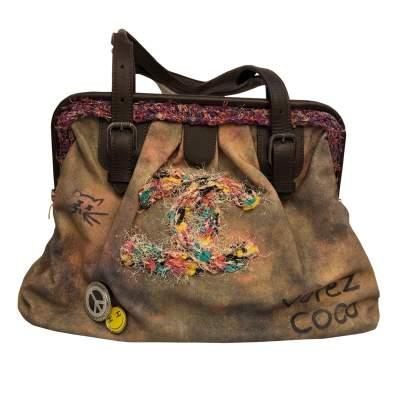 New runaway graffiti Bag-0