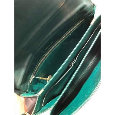 Vintage green Bag -11