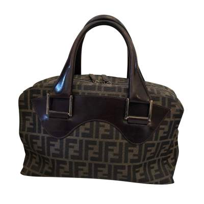Canvas leather Bag-1