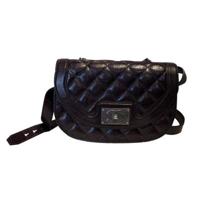 Quilted leather Bag -0