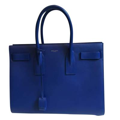 Electric leather blue Bag-0