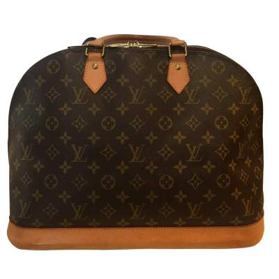 Alma monogram canvas Bag-0