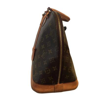Alma monogram canvas Bag-3
