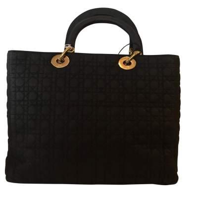 Black Lady Dior canvas Bag-3