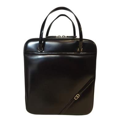 Black patent Bag-1