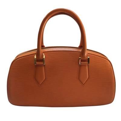 Small orange epi leather Handbag-3