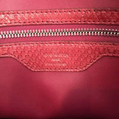 Raspberry python Handbag-9