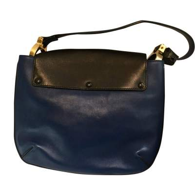 Tri-color leather Handbag-3