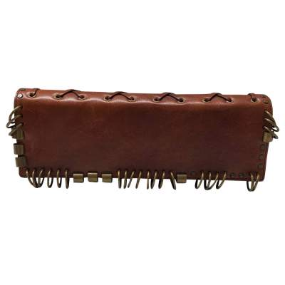 Brown leather Cluth-1