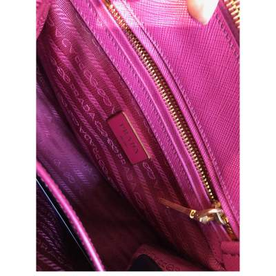 Pink small leather Bag-11
