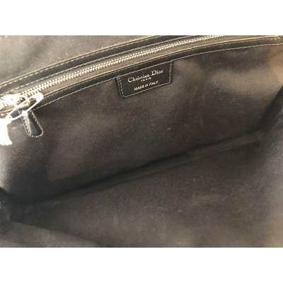 Quilted black leather Bag-11