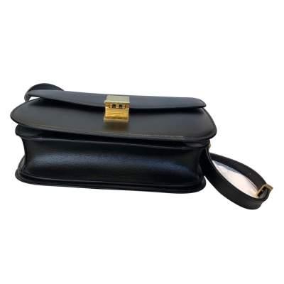 Black leather Bag-7