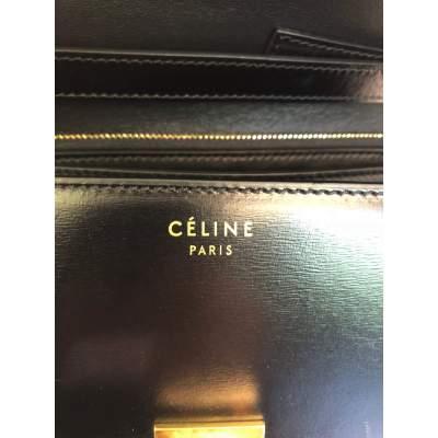 Black leather Bag-11