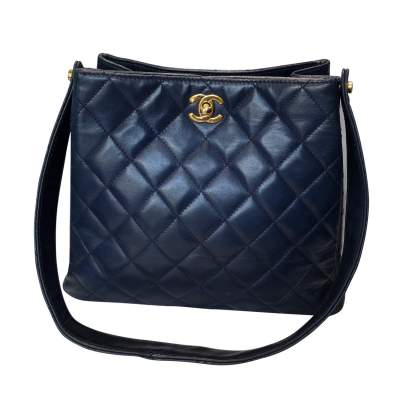 Quilted leather Bag-3