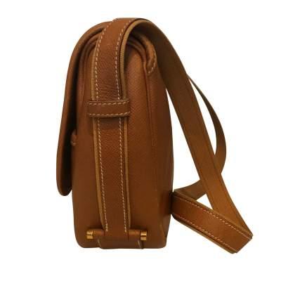 Gold leather man Bag-5