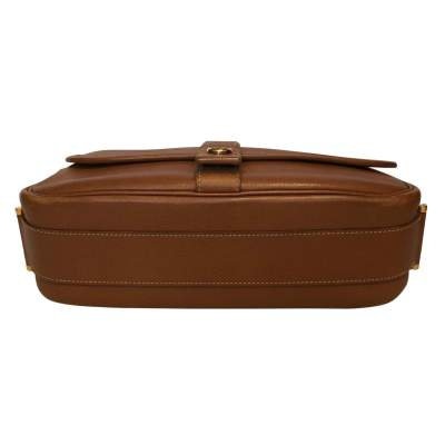 Gold leather man Bag-7