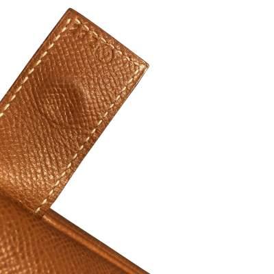 Gold leather man Bag-9