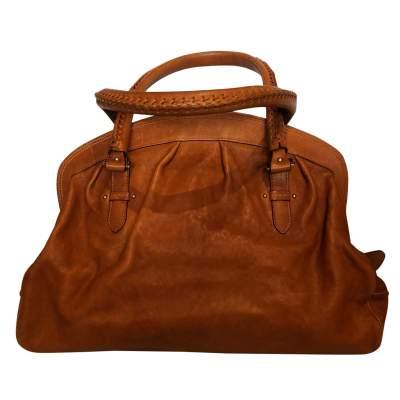 Large gold leather Bag-3