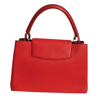 Red Capucine Handbag-3