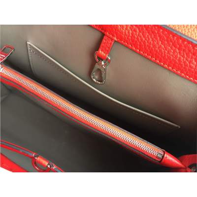 Red Capucine Handbag-11