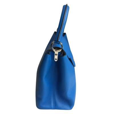Blue Capucine Handbag-7