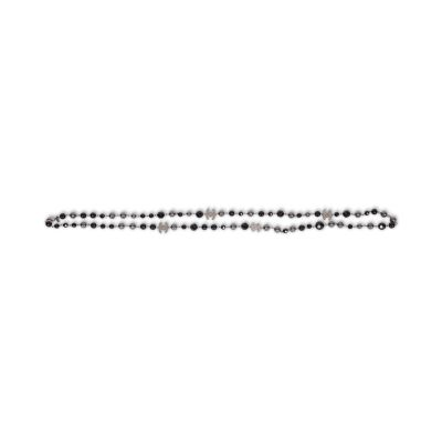 Black and grey pearls Necklace-7