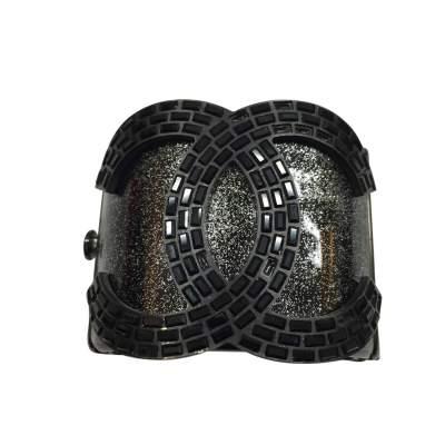 Black glitter cuff -0