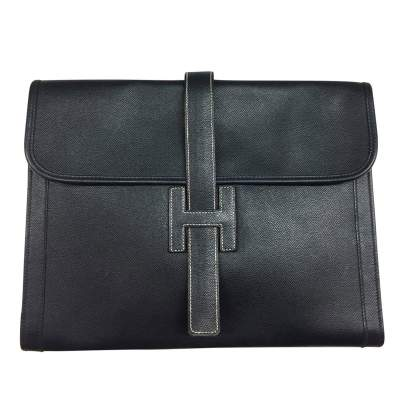 Leather documents Pouch-1