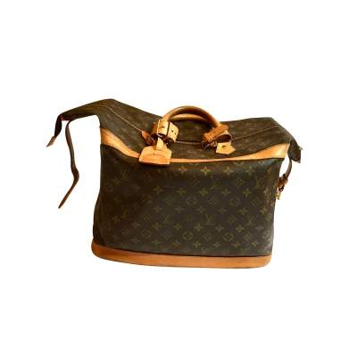 Vintage monogram canvas travel Bag-0