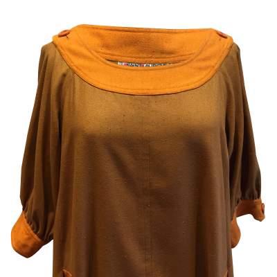 Vintage '84 silk Dress-5