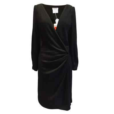 1990 Vintage black Dress-1