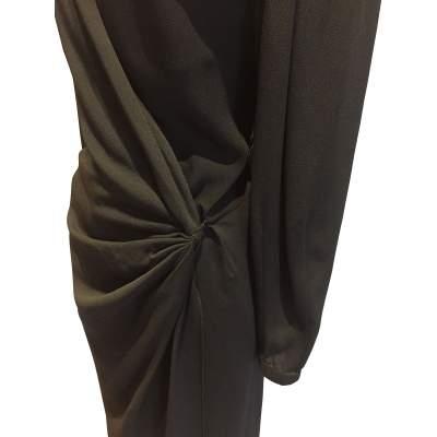 1990 Vintage black Dress-5