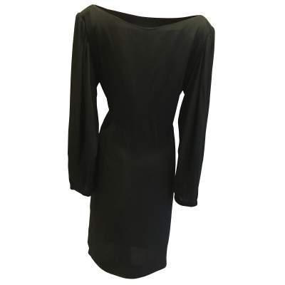 1990 Vintage black Dress-3
