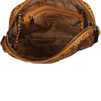 Braided leather Bag-9