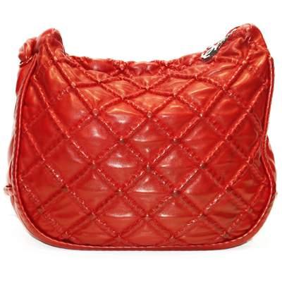 Red shoulder Bag-0