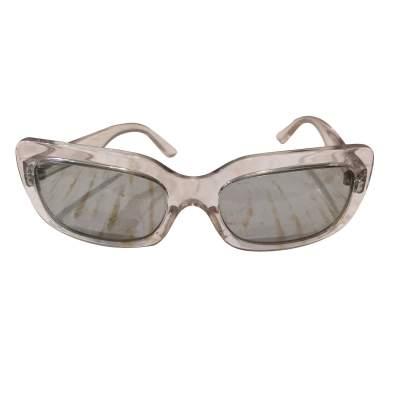 Transparent plastic Sunglasses-3