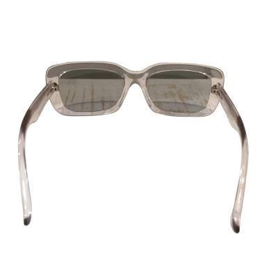 Transparent plastic Sunglasses-7