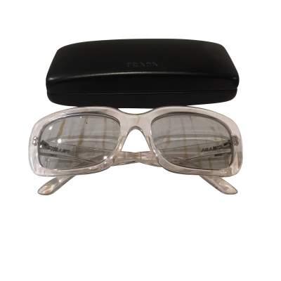 Transparent plastic Sunglasses-9