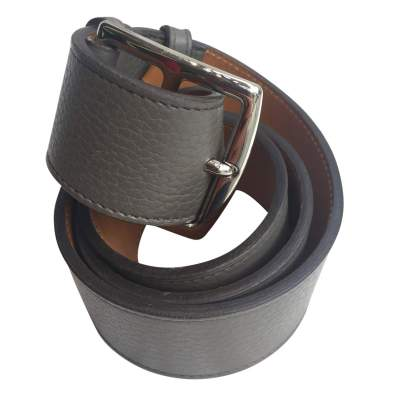 Taupe leather Belt-0