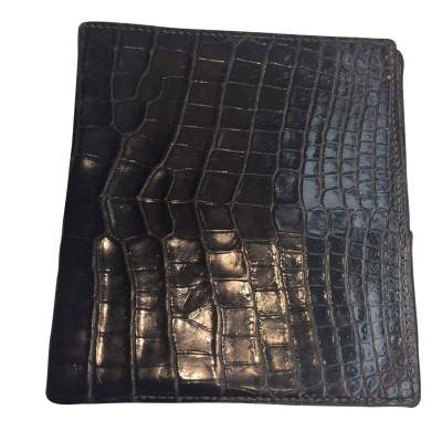 Vintage crocodile Wallet-0
