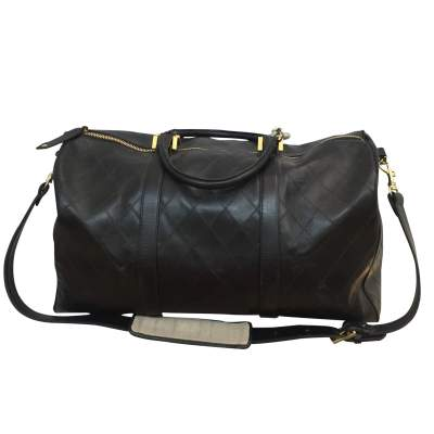 Leather weekend travel Bag-3