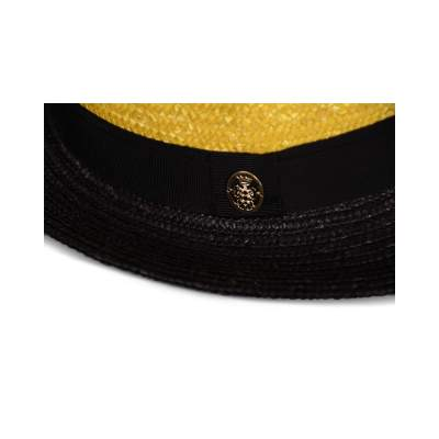Hand woven straw Hat -7