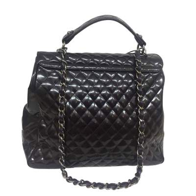 Large quilted patent leather Bag-3