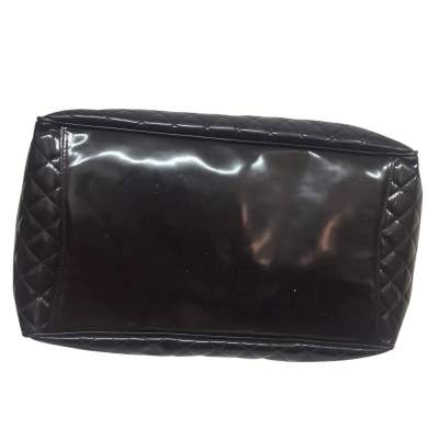 Large quilted patent leather Bag-7