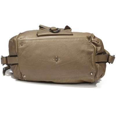 Beige Paddington Bag-7