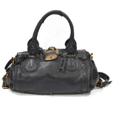 Gray paddington Bag-1