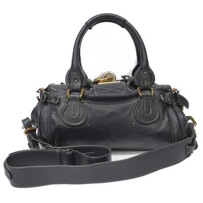 Gray paddington Bag-3