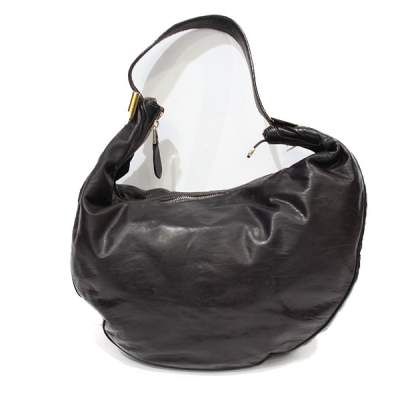 Chocolate leather Bag-3