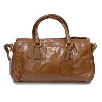 Cognac leather Bag-0