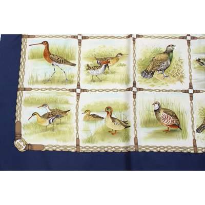 Green birds Scarf-5